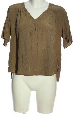 Anna Glover × H&M Bluzka z krótkim rękawem brązowy W stylu casual