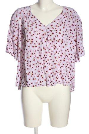 Anna Glover × H&M Blouse met korte mouwen volledige print casual uitstraling