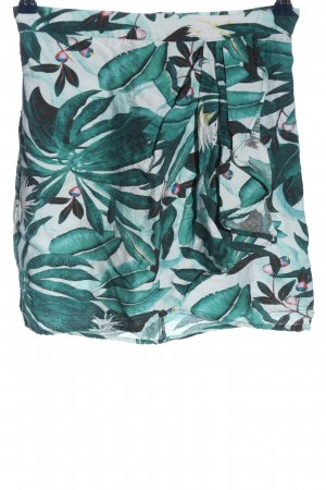 Anna Glover × H&M Mini rok groen-wit casual uitstraling