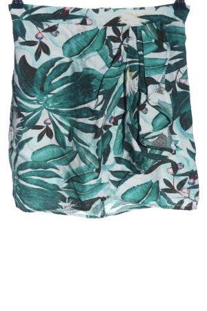 Anna Glover × H&M Spódnica mini zielony-biały W stylu casual