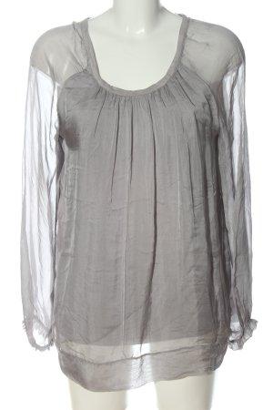 Anna Justper Shirt Blouse light grey casual look