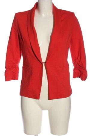 Anna Justper Korte blazer rood elegant