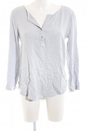 Anna Justper Long Sleeve Blouse light grey casual look