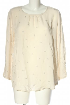 Anna Justper Slip-over Blouse cream allover print casual look