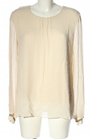 Anna Justper Slip-over Blouse cream business style