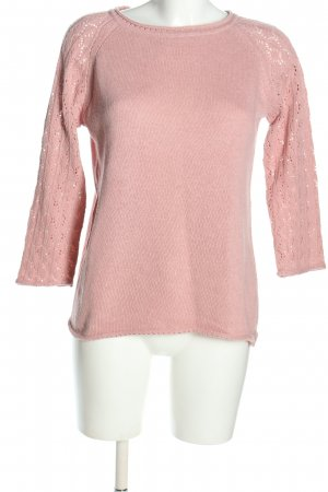 Anna Justper Knitted Sweater pink casual look