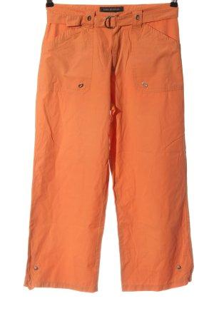 Anna Montana Pantalon 7/8 orange clair style décontracté