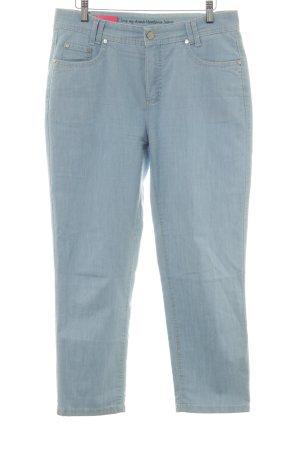 Anna Montana 7/8 Jeans himmelblau schlichter Stil