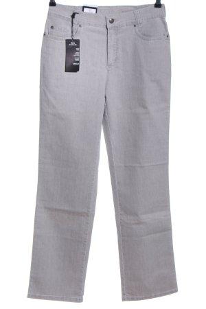Anna Montana Boot Cut Jeans hellgrau Casual-Look