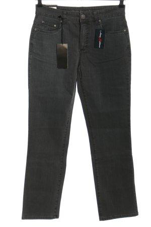 Anna Montana High Waist Jeans hellgrau Casual-Look