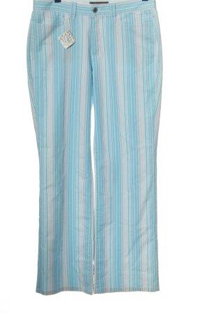Anna Montana Spodnie materiałowe niebieski-jasnoszary Wzór w paski