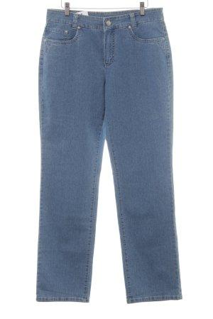 """Anna Montana Straight-Leg Jeans """"Monika"""" kornblumenblau"""