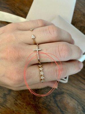 Anna Inspiring Jewellery Anillo de oro blanco-color rosa dorado