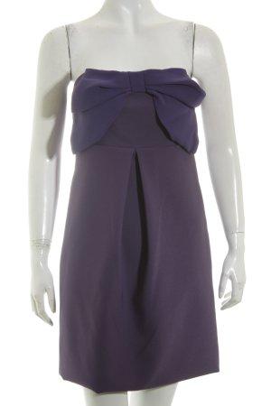 Anna Rita N Mini-jurk lila-donkerpaars elegant