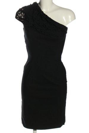 Anna Rita N One-Shoulder-Kleid schwarz Elegant