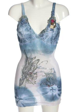 Anna Rita N Top z cienkimi ramiączkami Wzór w kwiaty W stylu casual