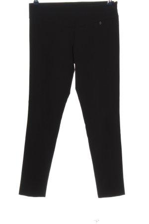 Anna Rita N Stoffen broek zwart casual uitstraling