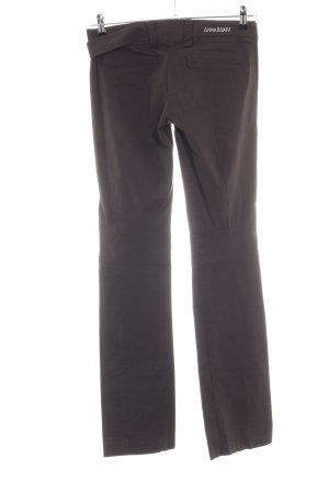 Anna Rita N Stoffen broek bruin casual uitstraling