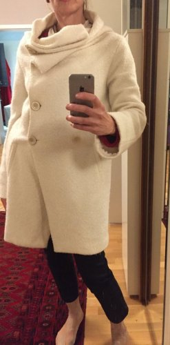 Anna Rita N Manteau mi-saison blanc tissu mixte