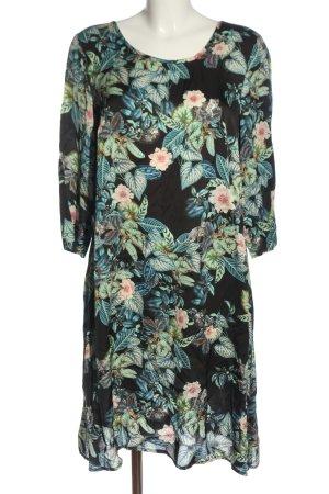 Anna's Dress Affair Jurk met lange mouwen bloemenprint casual uitstraling