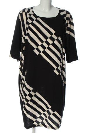 Anna's Dress Affair Sukienka midi czarny-w kolorze białej wełny