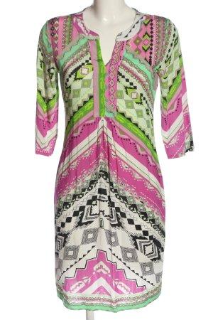 Anna's Dress Affair Mini-jurk volledige print casual uitstraling