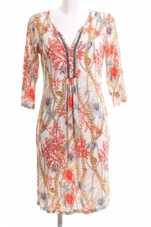 Anna's Stretch Dress allover print casual look