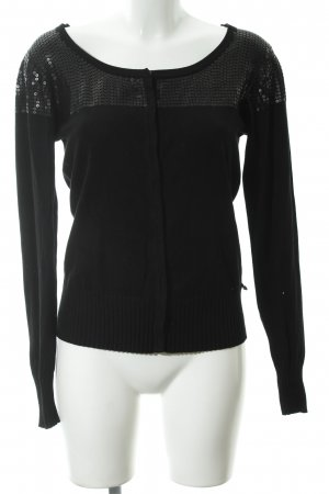 Anna Scott Cardigan black elegant