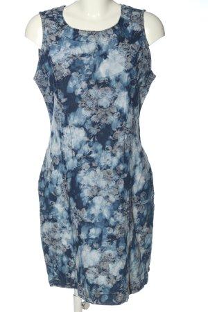 Anna Scott Denim Dress allover print casual look