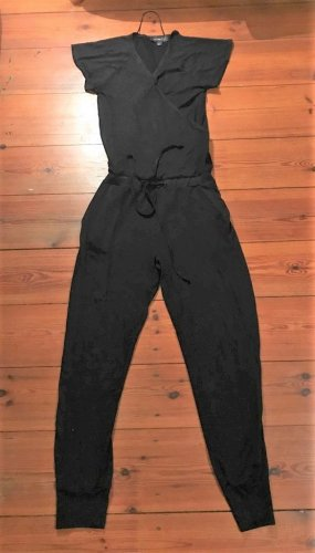 Anna Scott Jumpsuit black cotton