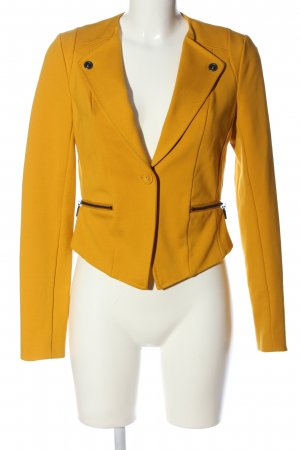 Anna Scott Blazer court orange clair style d'affaires