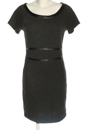 Anna Scott Sukienka z krótkim rękawem czarny W stylu biznesowym