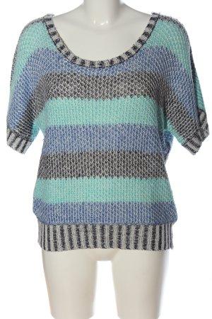 Anna Scott Sweater met korte mouwen veelkleurig casual uitstraling