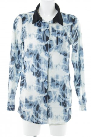 Anna Scott Blouse met lange mouwen abstract patroon casual uitstraling