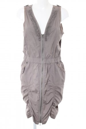 Anna Scott Mini Dress light grey casual look