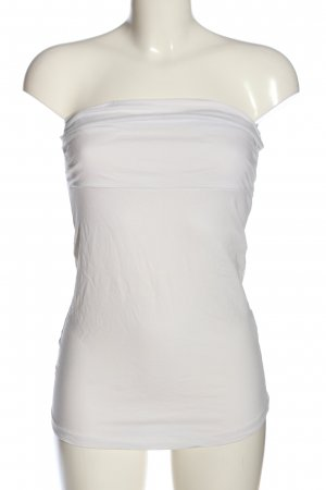 Anna Scott Top bez ramiączek biały W stylu casual