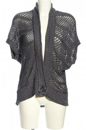 Anna Scott Cardigan in maglia grigio chiaro stile casual
