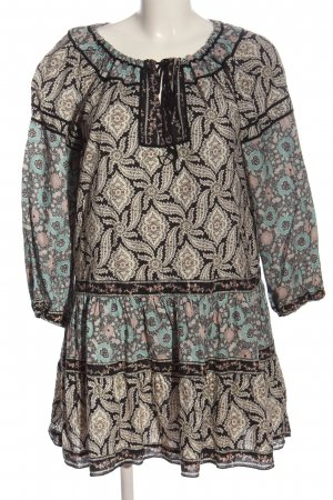 Anna Sui Mini Dress allover print casual look