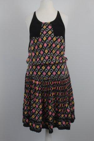 Anna Sui Abito hippie multicolore Seta