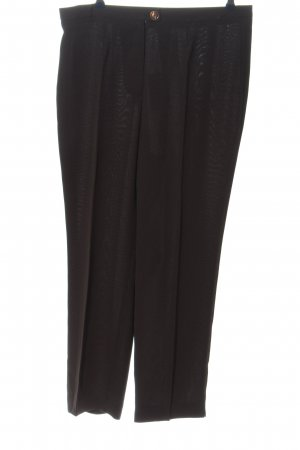 Anna v. Braun Jersey Pants black business style