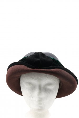 Anna Valerie Adolf Bowler Hat multicolored casual look