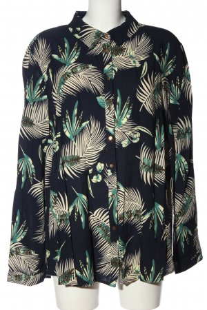 annalisa Shirt met lange mouwen volledige print zakelijke stijl