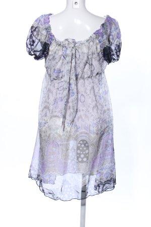 Annamoda Piu Blusenkleid abstraktes Muster Casual-Look