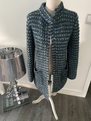 Wool Coat multicolored wool
