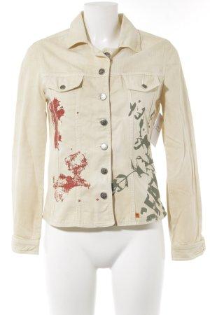 Anne Elisabeth Veste en jean multicolore style décontracté