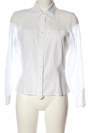 Anne Fontaine Langarm-Bluse weiß Casual-Look