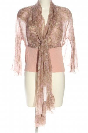 Anne Fontaine Seidenbluse abstraktes Muster Casual-Look