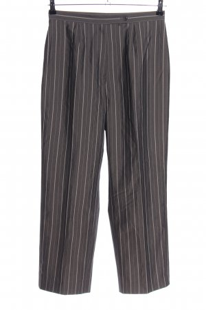 Anne Klein Suit Trouser light grey-white striped pattern casual look