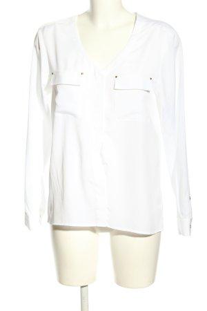Anne Klein Blouse Shirt white casual look