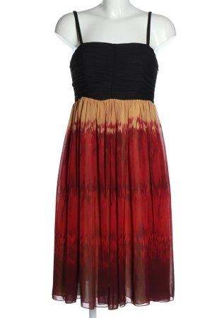 Anne Klein Chiffon Dress multicolored casual look